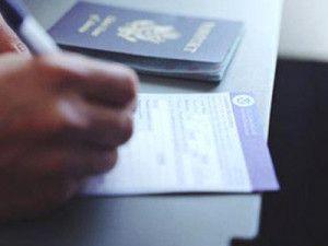 على رخصة الإقامة المؤقتة