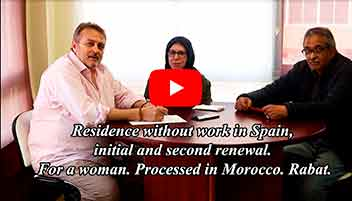 residence withou work in spain