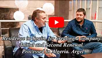 residence in spain creating company