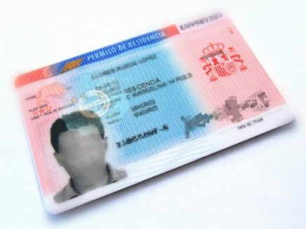 Are you aware you don't need the residence card? Our interest is inform