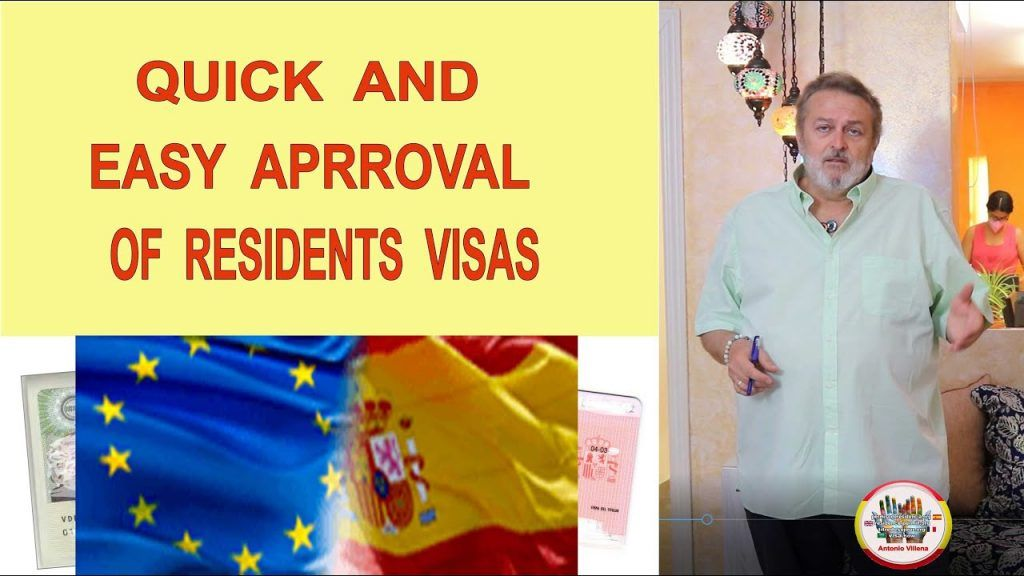 Easy and quick approvals of visas to Spain by residence