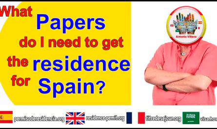 What papers do I require to obtain my residency?