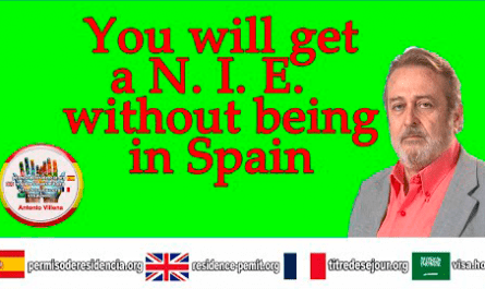 You will get a NIE without being in spain
