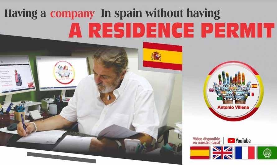 Having a company in Spain without having a residence permit